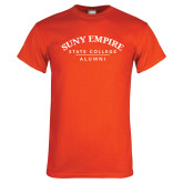 Orange T Shirt-Alumni