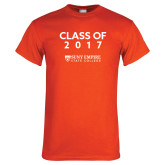 Orange T Shirt-Class Of…, Personalized year