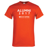Orange T Shirt-Alumni Year, Personalized year
