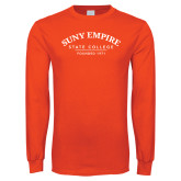 Orange Long Sleeve T Shirt-Founded 1971