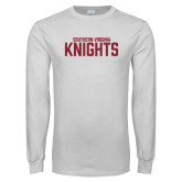 White Long Sleeve T Shirt-Southern Virginia Knights