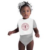 White Baby Bib-Primary Mark
