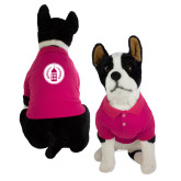 Classic Fuchsia Dog Polo-Tower Logo