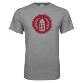 Grey T Shirt-Tower Logo