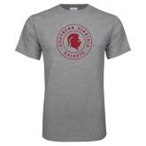 Grey T Shirt-Knights Seal