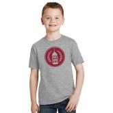 Youth Grey T Shirt-Tower Logo