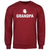 Cardinal Fleece Crew-Grandpa