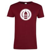 Ladies Cardinal T Shirt-Tower Logo