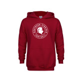 Youth Cardinal Fleece Hoodie-Football