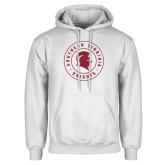 White Fleece Hoodie-Knights Seal