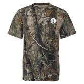 Realtree Camo T Shirt-Tower Logo