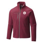 Columbia Full Zip Cardinal Fleece Jacket-Tower Logo