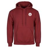Cardinal Fleece Hoodie-Tower Logo