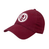 Cardinal Twill Unstructured Low Profile Hat-Tower Logo