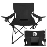 Deluxe Black Captains Chair-Tower Logo