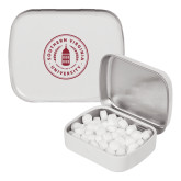 White Rectangular Peppermint Tin-Primary Mark