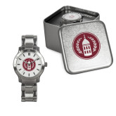 Ladies Stainless Steel Fashion Watch-Tower Logo