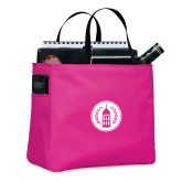 Tropical Pink Essential Tote-Tower Logo