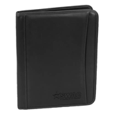 Millennium Black Leather Writing Pad-SWAC Engraved