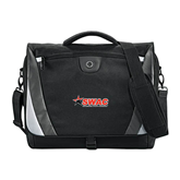 Slope Black/Grey Compu Messenger Bag-SWAC