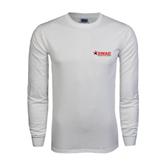 White Long Sleeve T Shirt-SWAC