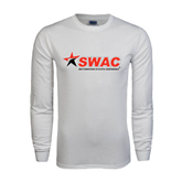White Long Sleeve T Shirt-SWAC