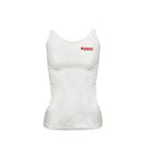 Ladies White Cami-SWAC