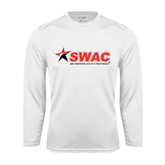 Syntrel Performance White Longsleeve Shirt-SWAC