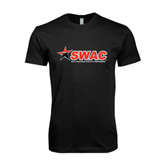 Next Level SoftStyle Black T Shirt-SWAC
