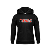 Youth Black Fleece Hoodie-SWAC