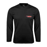 Performance Black Longsleeve Shirt-SWAC