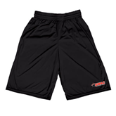 Midcourt Performance Black 9 Inch Game Short-SWAC
