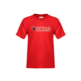 Youth Red T Shirt-SWAC