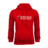 Red Fleece Hoodie-SWAC