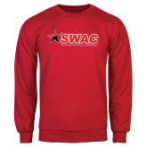 Red Fleece Crew-SWAC