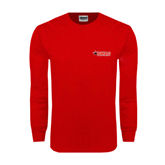 Red Long Sleeve T Shirt-SWAC