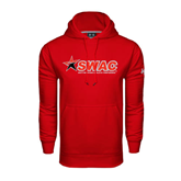 Under Armour Red Performance Sweats Team Hoodie-SWAC