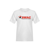 Youth White T Shirt-SWAC