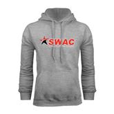 Grey Fleece Hood-SWAC