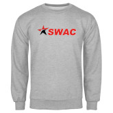 Grey Fleece Crew-SWAC