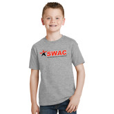 Youth Grey T-Shirt-SWAC