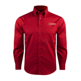 Red House Red Long Sleeve Shirt-SWAC