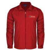 Full Zip Red Wind Jacket-SWAC