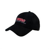 Black Heavyweight Twill Pro Style Hat-SWAC