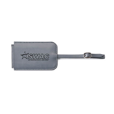 Fabrizio Grey Luggage Tag-SWAC Engraved