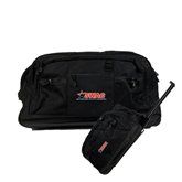 Urban Passage Wheeled Black Duffel-SWAC