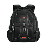 Wenger Swiss Army Mega Black Compu Backpack-SWAC