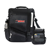 Momentum Black Computer Messenger Bag-SWAC