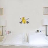 1 ft x 1 ft Fan WallSkinz-Interlocking SU w/Sabers