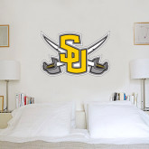 2 ft x 3 ft Fan WallSkinz-Interlocking SU w/Sabers